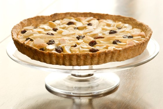 Pear & Almond French Tart