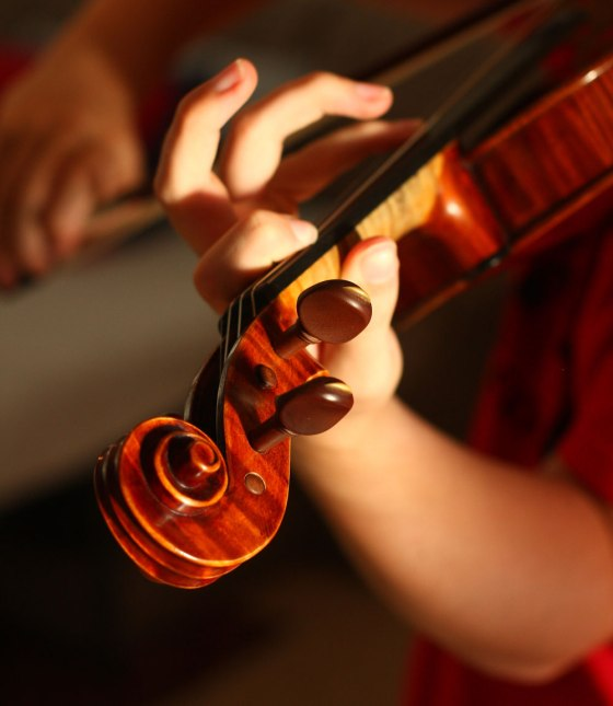 Playing the Violin CC